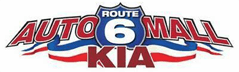 Route 6 Auto Mall KIA Logo